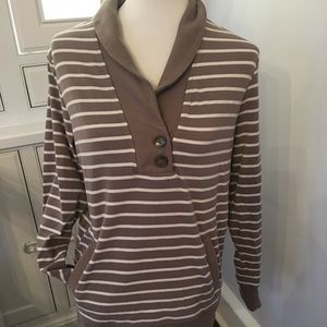Banana Republic sweatshirt/ long-sleeved shirt
